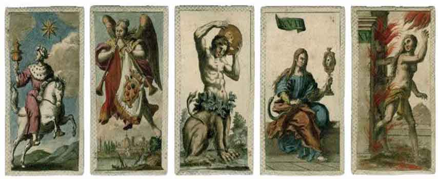 La historia del tarot