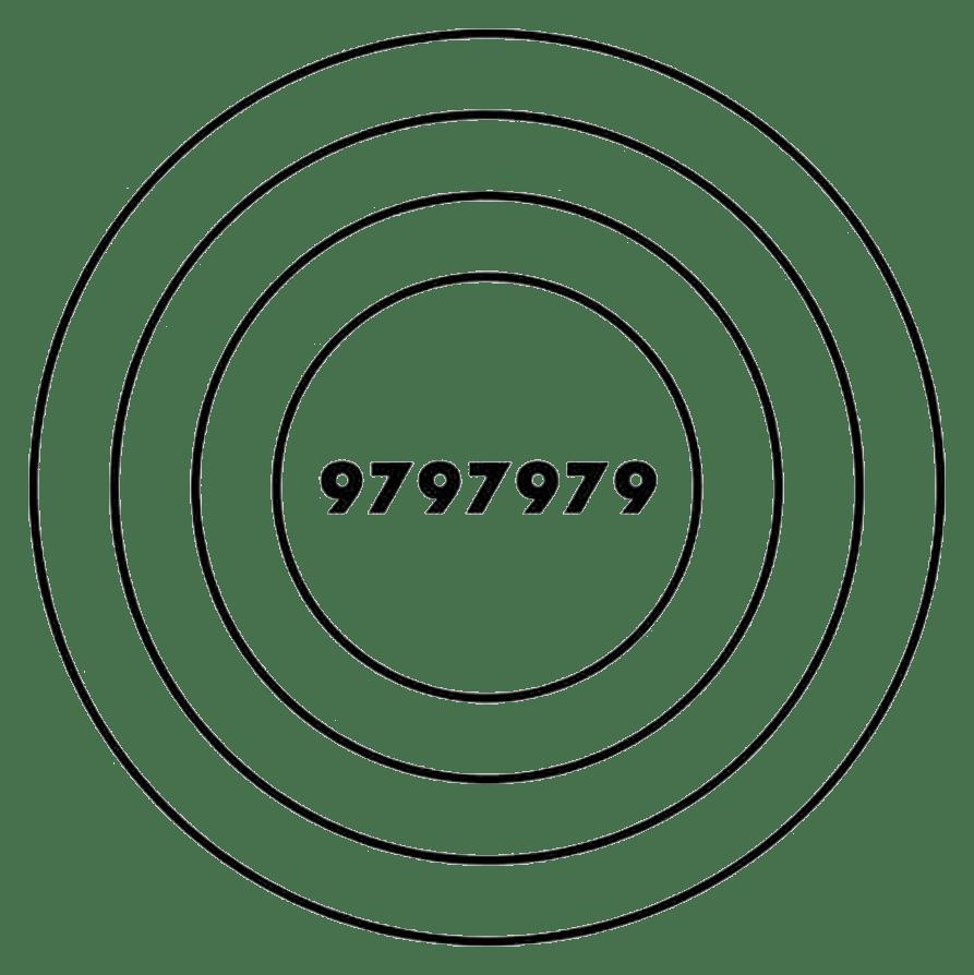 Símbolo de Alta Vitalidad, creado por el radiestesista australiano H.O. Busby