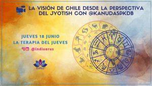 La visión de Chile desde la perspectiva del Jyotish con kanudaspkdb