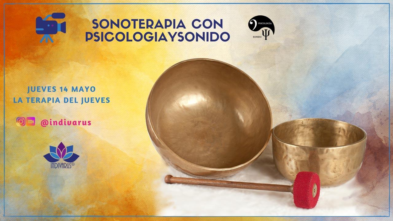 Sonoterapia con psicologiaysonido