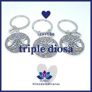 Llavero Triple Diosa