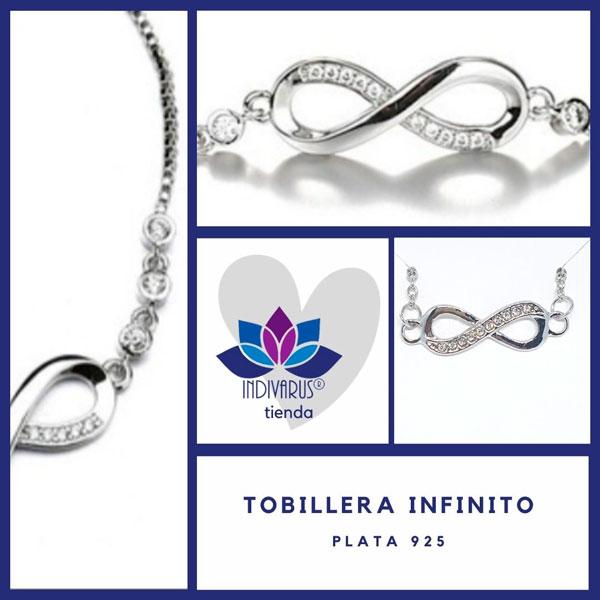 Tobillera Infinito Plata 925